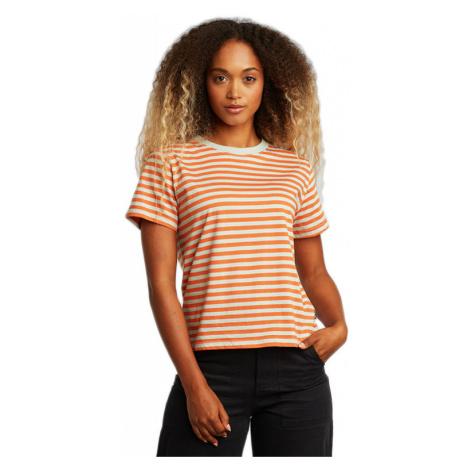 Dedicated T-shirt Mysen Stripes Orange-L oranžové 18573-L