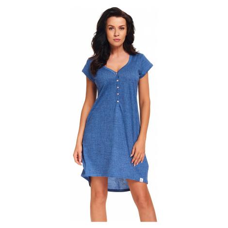 Modrá melírovaná nočná košeľa TM5038