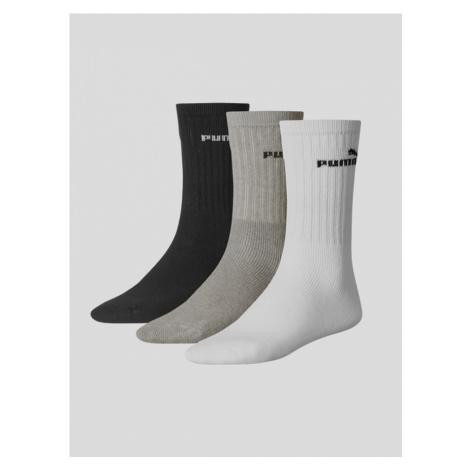 Ponožky Puma SPORT 3 Pack Farebná