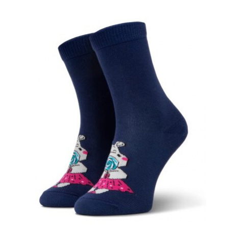 Ponožky Nelli Blu G4W840 r. 25/28 Polipropylen,Elastan,polyamid,bavlna