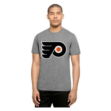 47 Brand Club Tee Nhl Philadelphia Flyers Šedé