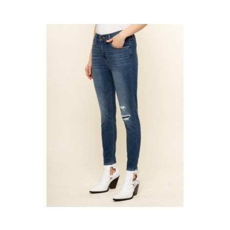 Levi's® Skinny Fit džínsy 720™ 73941-0008 Tmavomodrá Skinny Fit