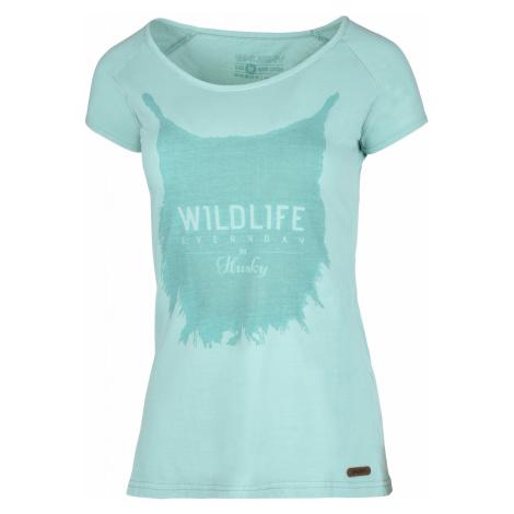 Husky Lynx Tyrkysová, Dámske tričko