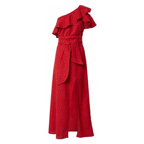BILLABONG Letné šaty  červená