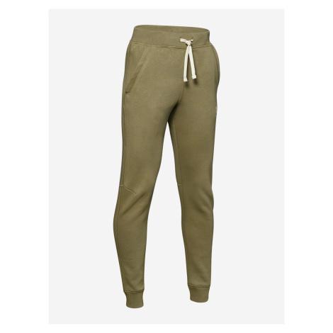Tepláky Under Armour Cotton Fleece Joggers-Grn Zelená