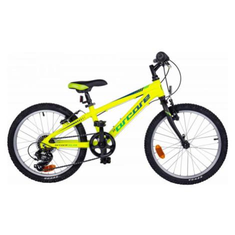 """Arcore NELVER 20 zelená - Detský 20"""" bicykel"""