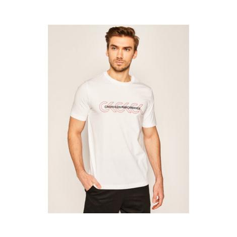 Calvin Klein Performance Tričko Short 00GMS0K136 Biela Regular Fit