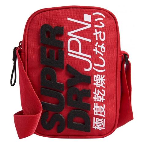 Červená taška cez plece SUPERDRY MONTAUK