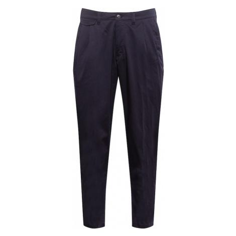 DRYKORN Plisované nohavice 'NOSH'  námornícka modrá