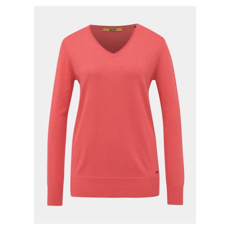 ZOOT Baseline ružové dámsky basic sveter Irma