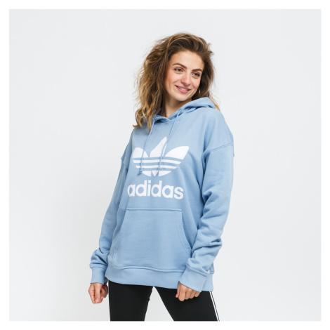 adidas Originals Trefoil Hoodie modrá
