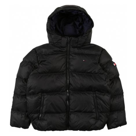 TOMMY HILFIGER Zimná bunda 'Essential'  čierna