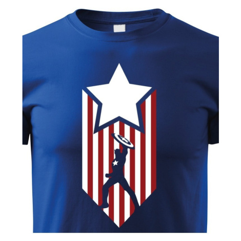Detské tričko s potlačou Kapitán Amerika - Captain America
