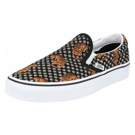 VANS Slip-on obuv  biela / čierna / okrová