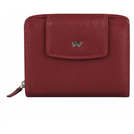 Braun Büffel Dámska kožená peňaženka Golf 2.0 90450-051 - červená