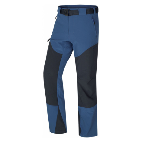 Husky Keiry tm. modrá, Pánske softshellové nohavice