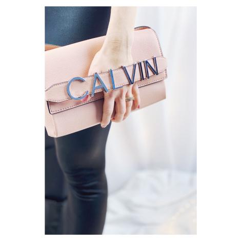 Calvin Klein clutch kabelka - ružová Veľkosť: jedna veľkosť