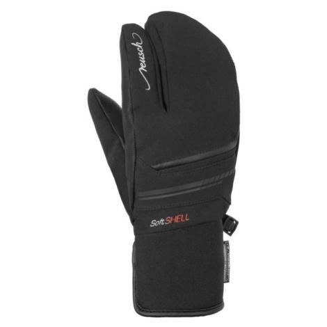 Reusch TOMKE STORMBLOXX LOBSTER čierna - Lyžiarske rukavice