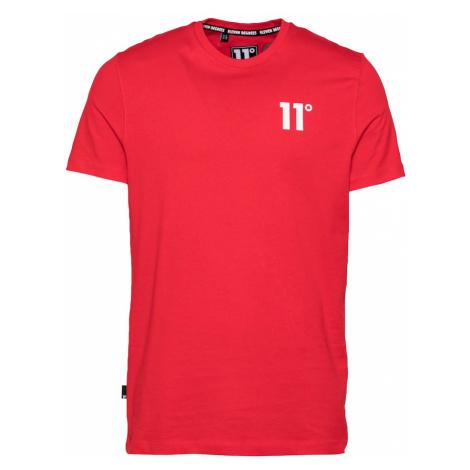 11 Degrees Tričko 'CORE'  červená