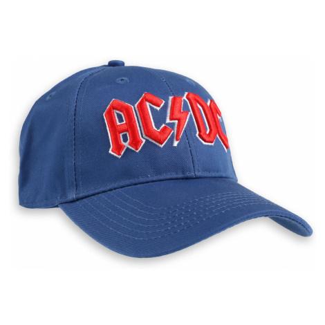 šiltovka ROCK OFF AC-DC Red Logo Mid-Blue