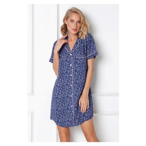 Nočná košeľa Lilianna modrá Aruelle