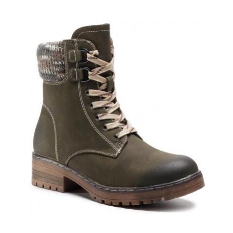 Šnurovacia obuv Clara Barson WS5010-01 Ekologická koža/-Ekologická koža