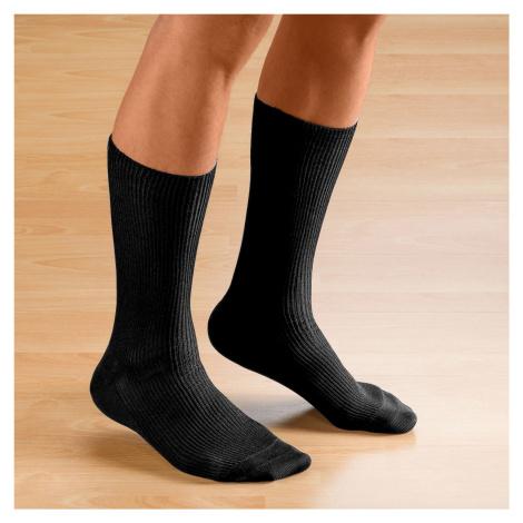 Blancheporte Pánske ponožky, súprava 2 páry čierna