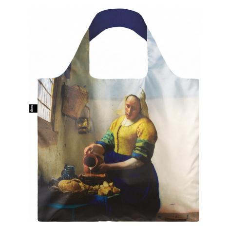 Nákupná taška LOQI Museum, Vermeer - The Milkmaid with Irma Boom