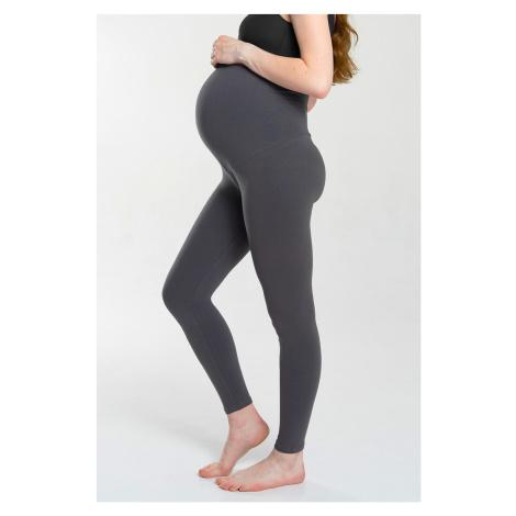 Legíny Anna tehotenské tmavosivá