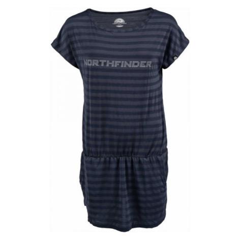 Northfinder KILDA - Dámske tričko predĺženého strihu
