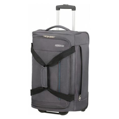 American Tourister Cestovná taška na kolieskach Heat Wave 45 l - šedá