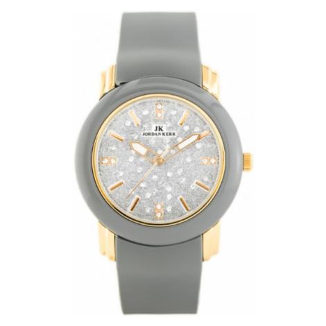 Dámske hodinky s gumeným remienkom Jordan Kerr 1711-G