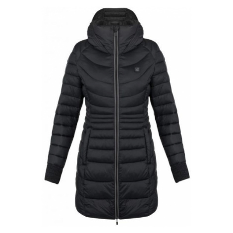 Loap JESNA čierna - Dámsky zimný kabát