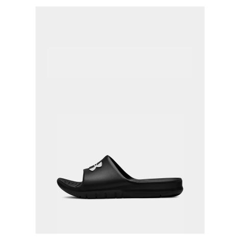 Čierne pánske pantofle Core Under Armour