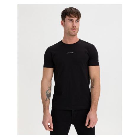 Calvin Klein Micro Branding Essential Tričko Čierna
