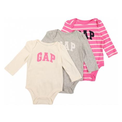 GAP Body  sivá melírovaná / ružová / krémová / námornícka modrá / biela