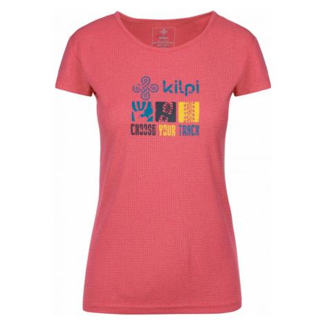 Women's functional T-shirt Giacinto-w pink - Kilpi