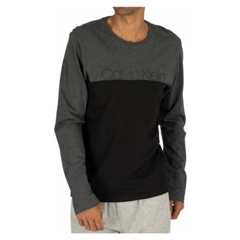 Pánske tričko NM1581E-038 šedá - Calvin Klein