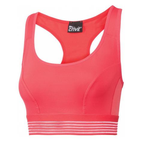 CRIVIT® Dámska športová podprsenka , ružová)
