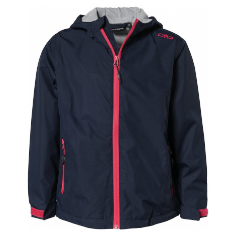 CMP Outdoorová bunda  červená / námornícka modrá