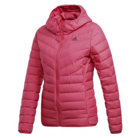 adidas VARILITE 3S HJ ružová - Dámska bunda