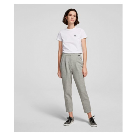 Nohavice Karl Lagerfeld Tailored Jersey Trousers