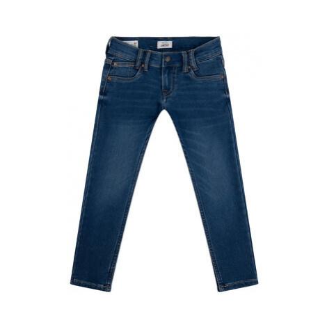 Pepe Jeans Džínsy Sneaker PB200291 Tmavomodrá Slim Fit
