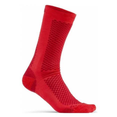 Craft WARM 2-PACK červená - Ponožky 2-pack