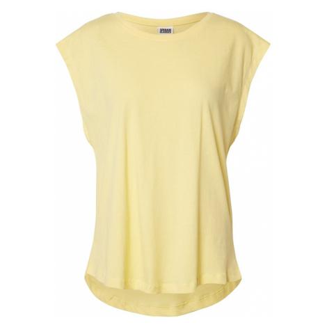 Urban Classics Tričko  žltá