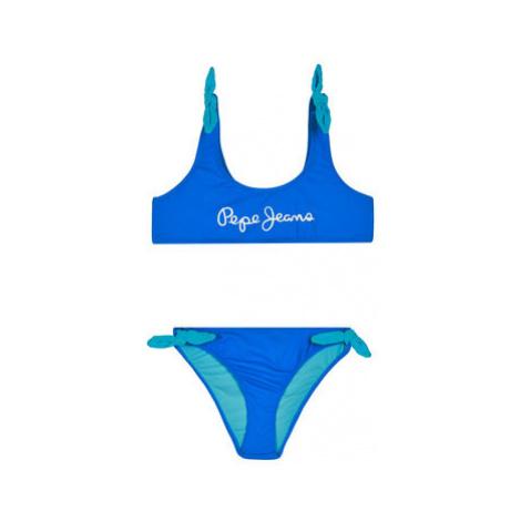 Pepe Jeans Bikiny New Saigon Bikini PGB10319 Modrá