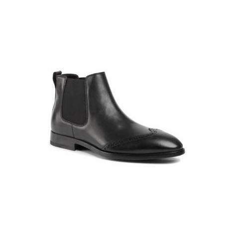 Aldo Bruè Členková obuv s elastickým prvkom AG20FPH-BEN Čierna