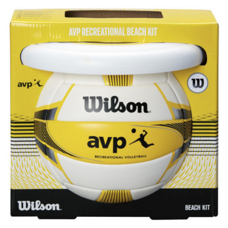Wilson AVP BEACH KIT W/DISK YEL - Plážový set