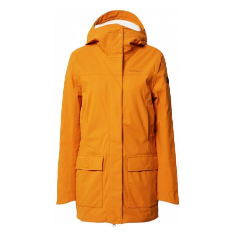 Schöffel Outdoorový kabát 'Rotterdam'  šedobiela / zlatá