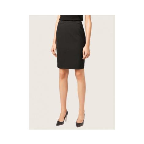 Boss Puzdrová sukňa Vilea 50291813 Čierna Slim Fit Hugo Boss